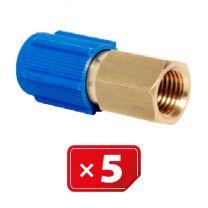 Adaptador Retrofit - 1/4 sae cobre puerto lateral bajo (5 uds.)