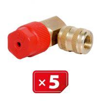 Adaptador Retrofit - 90° 3/16 sae cobre puerto lateral alto (5 uds.)