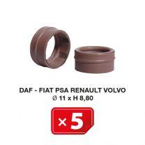 AC junta especial Daf-Fiat-PSA-Renault-Volvo Ø 11 x H 8.80 (5 uds.)