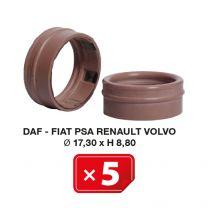 AC junta especial Daf-Fiat-PSA-Renault-Volvo Ø 17.30 x H 8.80 (5 uds.)