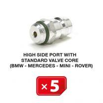 Boquilla lado Alta Presión con válvula estándar (BMW-Mercedes-Mini-Rover) (5 uds.)