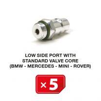 Boquilla lado Baja Presión con válvula estándar (BMW-Mercedes-Mini-Rover) (5 uds.)