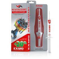 XADO Revitalizante EX120 para motores a gasolina y gas licuado natural (LPG)